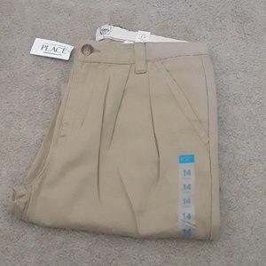 NWT Boys Childrens Place School Uniform Pants